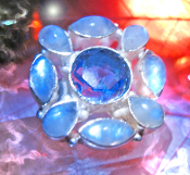 Haunted ring SUPER MOON SOLUTIONS TO ALL PROBLEMS FEMALE Genie 9