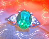 Haunted Ring WEALTH LUCK LEPRECHAUN Spirit Magick vessel Spell c