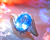 Haunted ring POWER WEALTH LUXURIES Female Genie Djinn Spirit ves